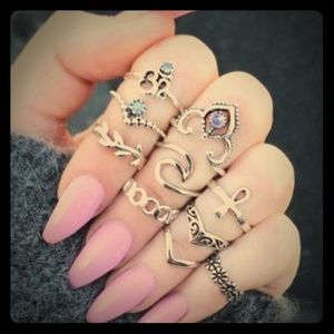 10 piece ring set